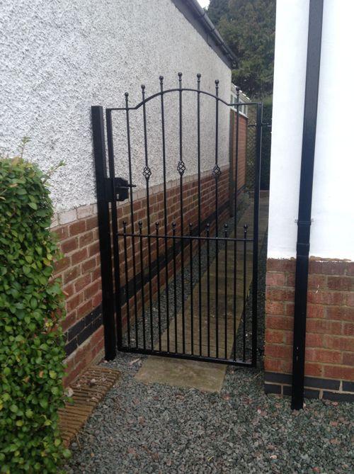 Wrought Iron Single Gates