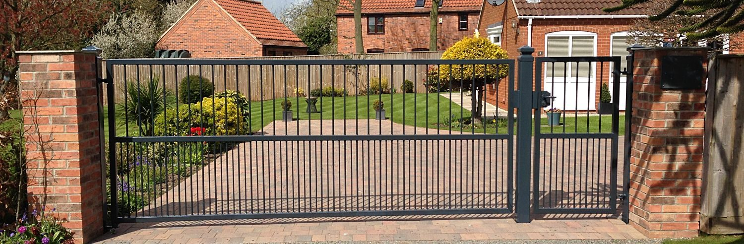 Single Wrought Iron Gates