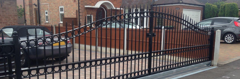 Iron Gates Iron Railings Nottingham South Notts