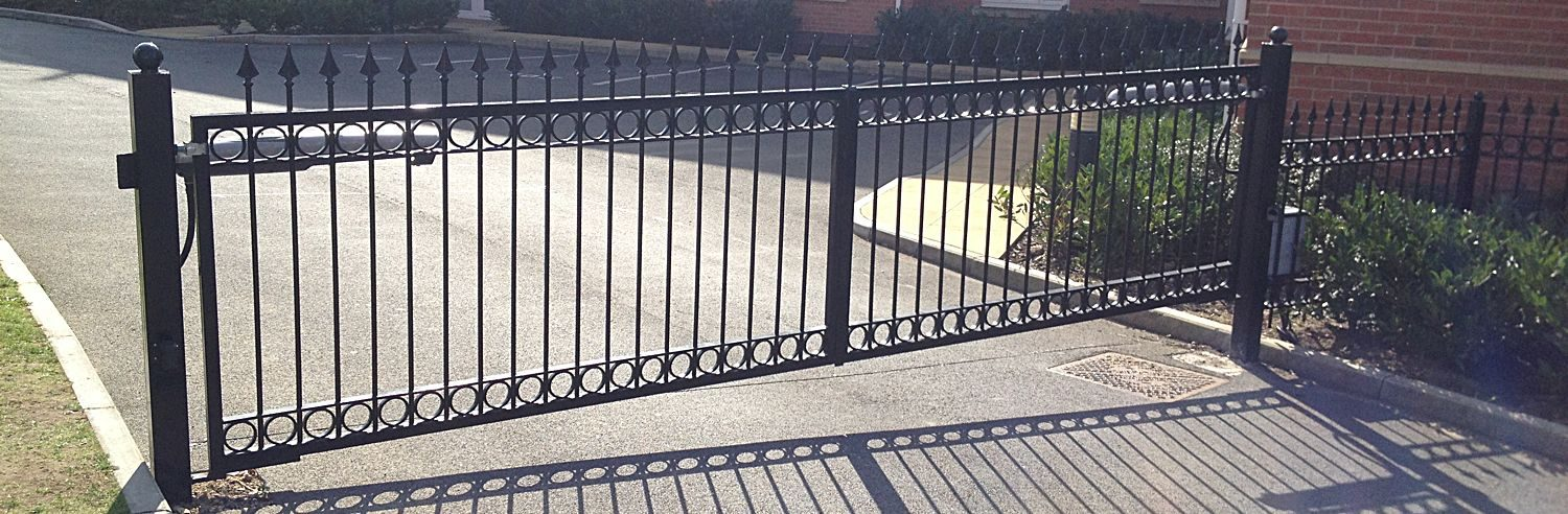 Wrought Iron Electric Gates
